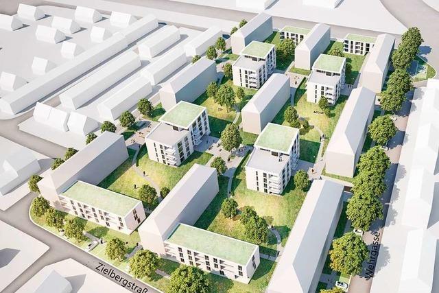 In Müllheim sollen auf einen Schlag 100 neue Wohnungen entstehen