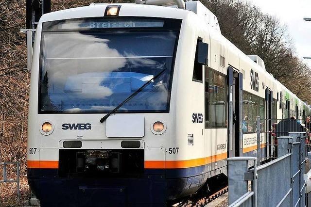 Zugausfälle und Verspätungen auf Breisgau-S-Bahn