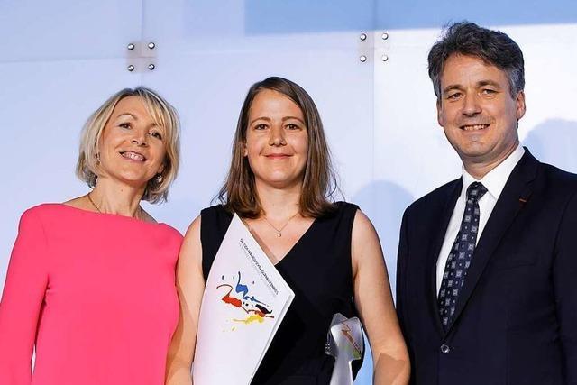 Anika Maldacker erhält Deutsch-Französischen Journalistenpreis