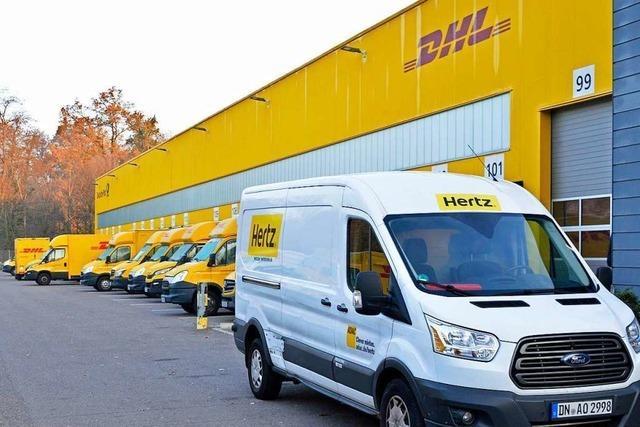 Mit 450 Aushilfen will DHL in Freiburg die Päckleflut zu Weihnachten meistern