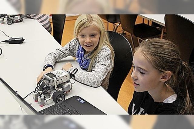 Workshop soll Mädchen für Roboter begeistern