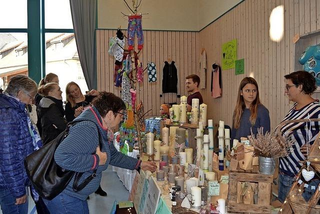 Vielfalt beim Kreativmarkt