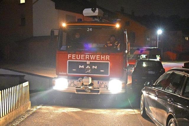 Feuerwehr, DRK und Ordnungsamt sind durch Rheinfelden gefahren