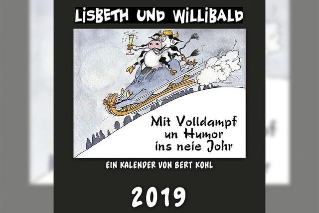Kalender mit Lisbeth und Willi