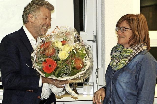 Christine Dreher feiert 25-jähriges Dienstjubiläum