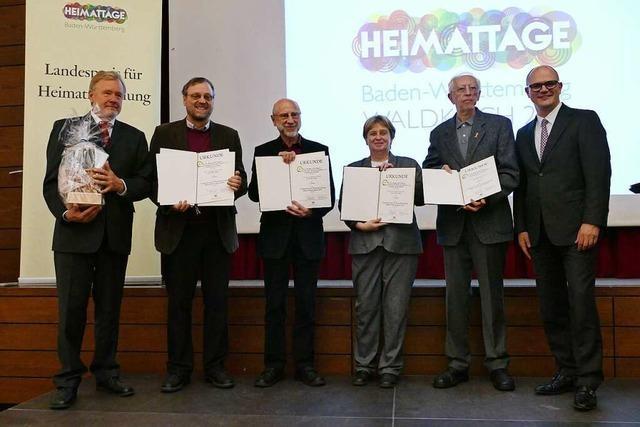 Landespreise für Heimatforschung in Waldkirch verliehen