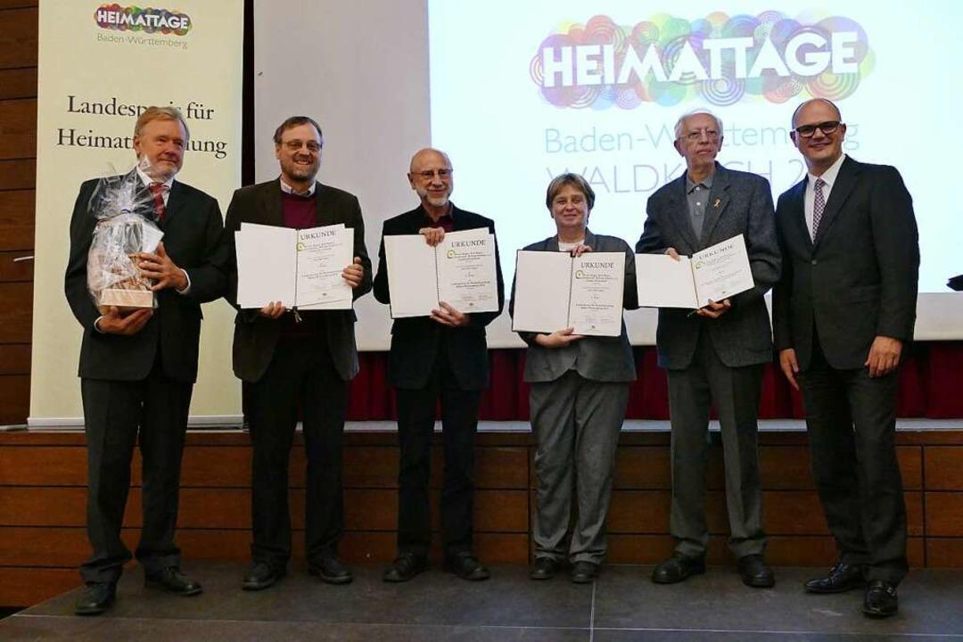 Landespreis für Heimatforschung: den e...s Ministerialdirektor Ulrich Steinbach  | Foto: Sylvia Sredniawa