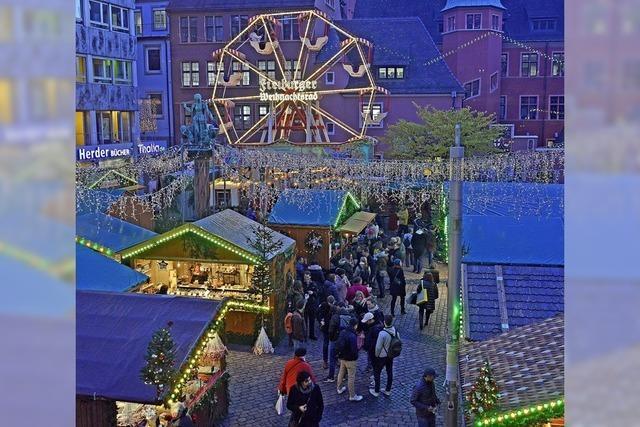Der Weihnachtsmarkt hat begonnen