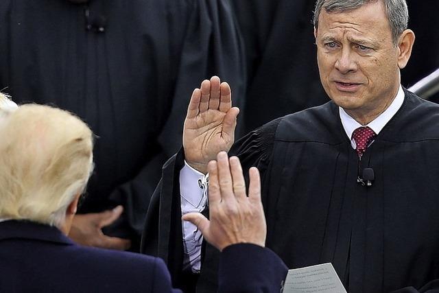 Oberster US-Richter widerspricht Trump