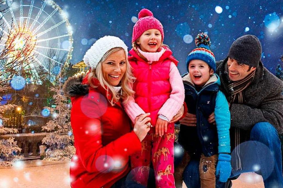 Winterlicher Europa-Park    Foto: Europa-Park