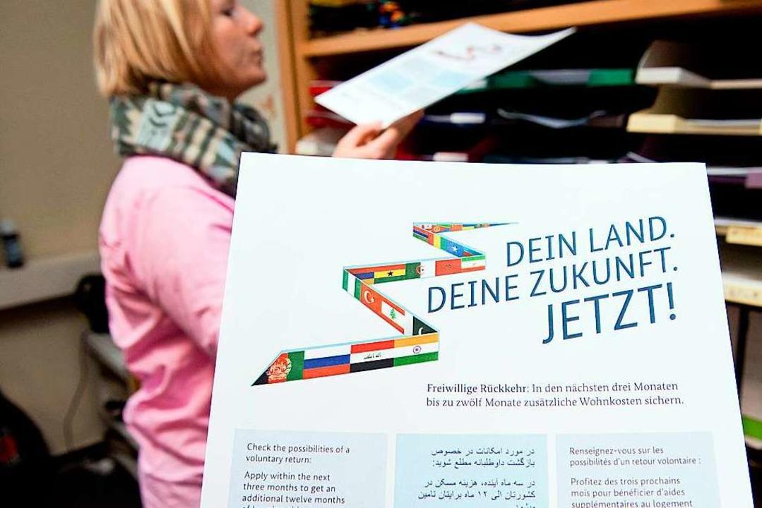 2400 Plakate werben bundesweit für die Rückkehr.   | Foto: Dpa