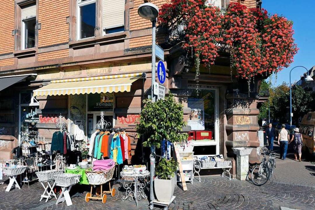 Das S'Einlädele an der Ecke Wanner- und Guntramstraße.  | Foto: Thomas Kunz