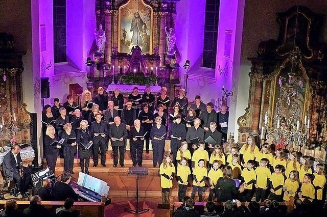 Kids- und Teens-Chor St. Gallus und Kirchenchor in Teningen-Heimbach
