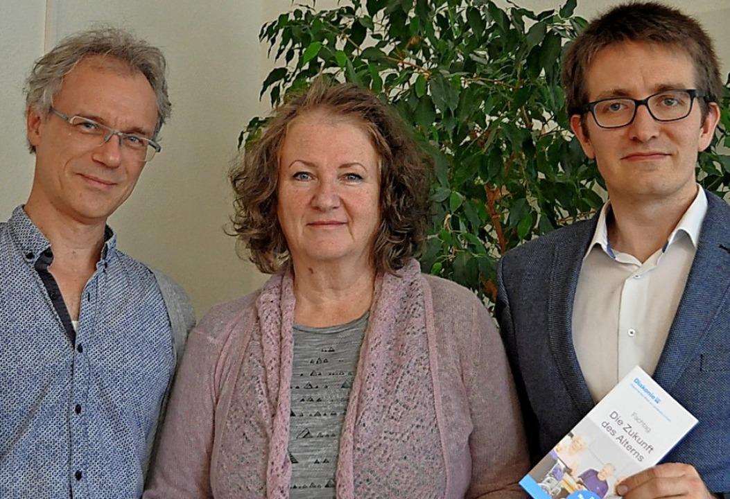 Stefan Günther, Renate Schwedes und Christoph Zacheus-Hufeisen (rechts)   | Foto: Gramespacher