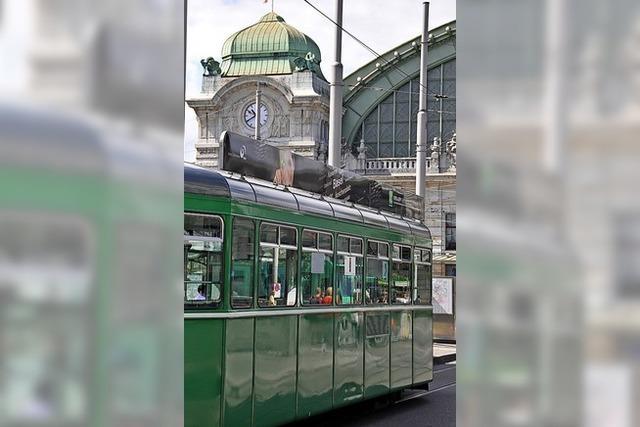 Neue Tramgleise für Centralbahnplatz