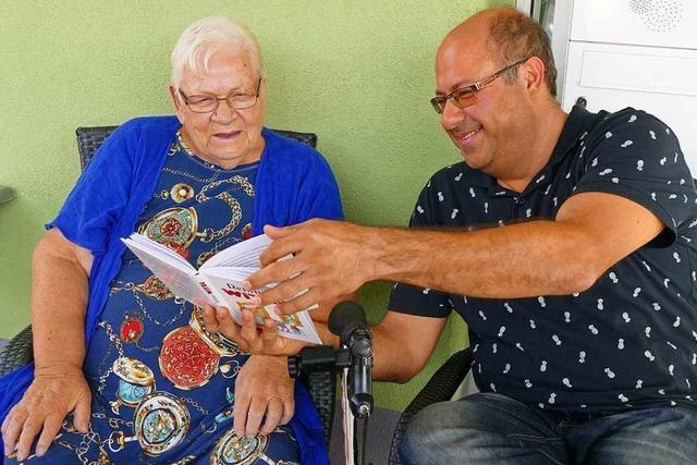 Der Grafiker Ramin Heshmati aus dem Iran arbeitet in Rheinfelden als Altenpfleger