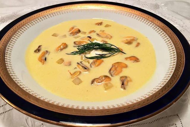 Muschelsuppe: Vorspeise à la Antoine
