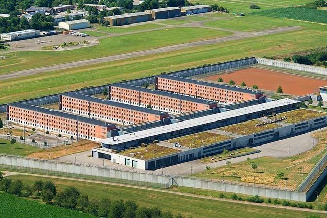 Justizminister Wolf will wohl das Offenburger Gefängnis vergrößern