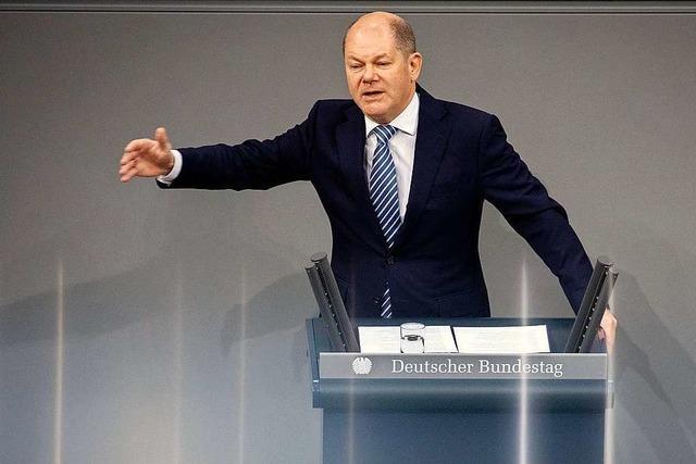 Beim Haushalt wird der Finanzminister zum Bundesgärtner