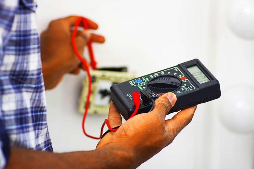 Zereimariam A. möchte eine Ausbildung als Elektriker beginnen.  | Foto: Fotos 593 (Adobe Stock)