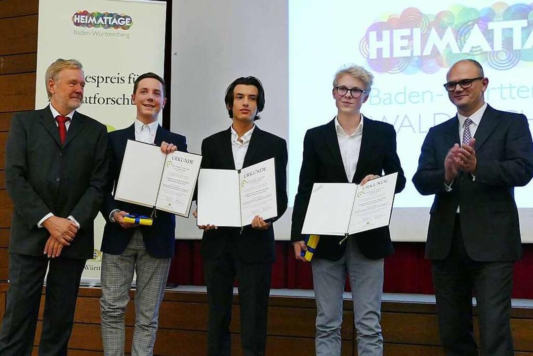 Einen Anerkennungspreis  erhielten Kay... Ministerialdirektor Ulrich Steinbach.  | Foto: Sylvia Sredniawa