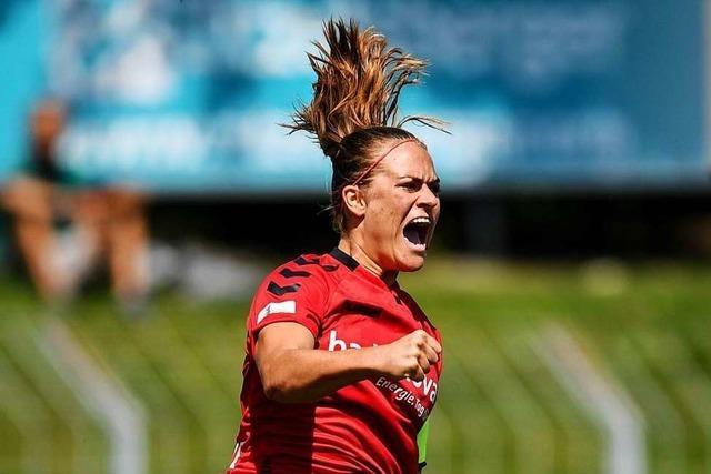 Frauen des SC Freiburg spielen 2:2 gegen die SGS Essen