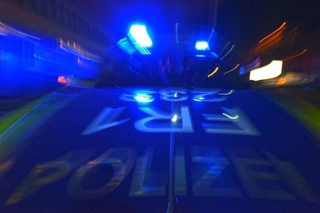Großeinsatz von Feuerwehr und Polizei in Weingarten