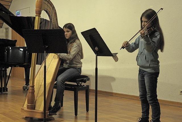 Musikschule stellt sich mit breiter Palette an Instrumenten vor
