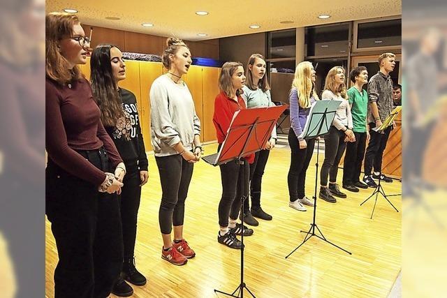 Mitreißende junge Stimmen der Musikschule