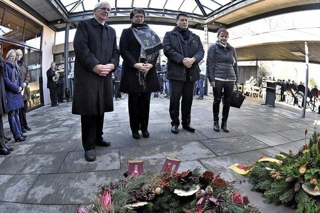 Denzlinger Vereine erinnern an die Verstorbenen