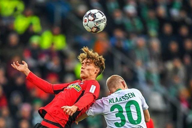 Luca Waldschmidt spielt gegen Bremen eine starke Partie