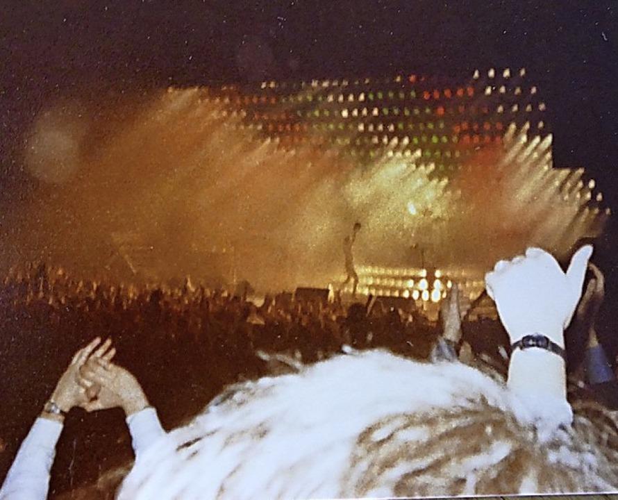 Schemenhaft zu erkennen: Freddie Mercury     Foto: C. Kramberg