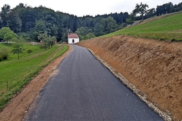 Neue Hofzufahrten im Kohlenbachtal