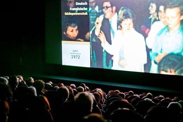 400 Besucher kamen zur Premiere des Lörrach-Films der Badischen Zeitung