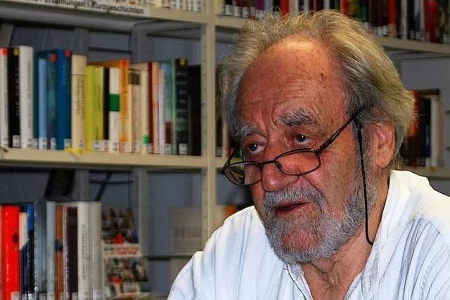 Felix Huby erinnert sich in Kandern an Stationen seines Lebens