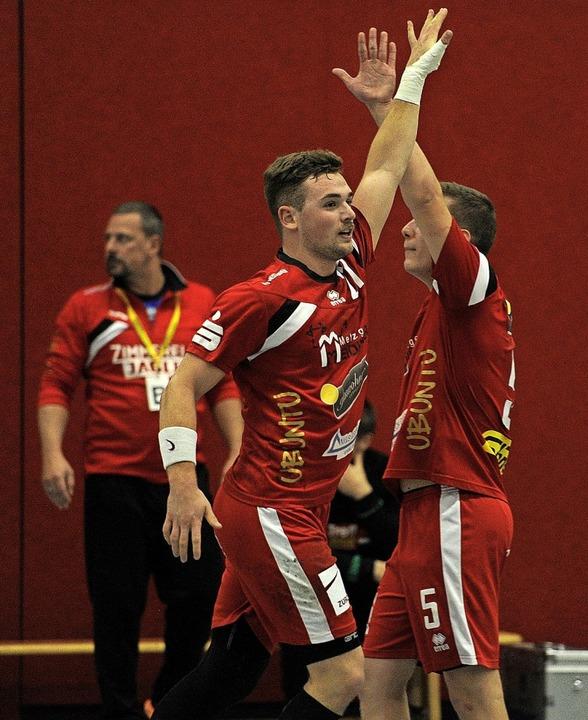 <BZ-FotoAnlauf>HTV Meissenheim:</BZ-Fo...ag den elften Erfolg im elften Spiel.   | Foto: Pressebüro Schaller
