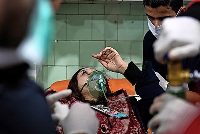 Damaskus wirft Rebellen Angriff mit Giftgas vor