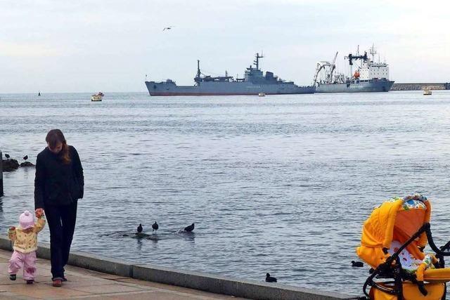 Ukraine wirft Russland Beschuss eigener Marineschiffe vor