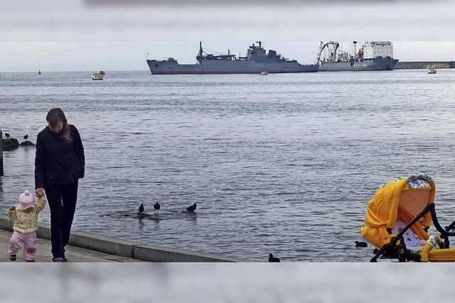 Ukraine wirft Russland Beschuss von Schiffen vor