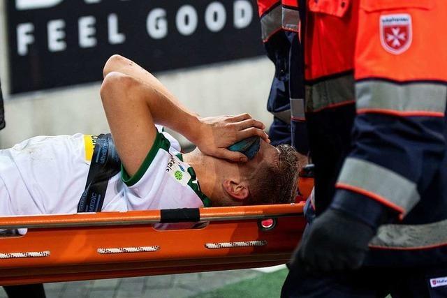 Matthias Ginter bricht sich Kiefer und Augenhöhle