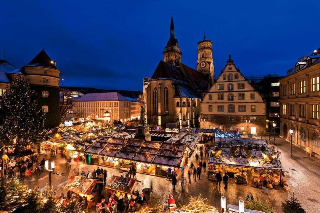 Stuttgart Weihnachtsmarkt.Der Stuttgarter Weihnachtsmarkt Ist Das Perfekte