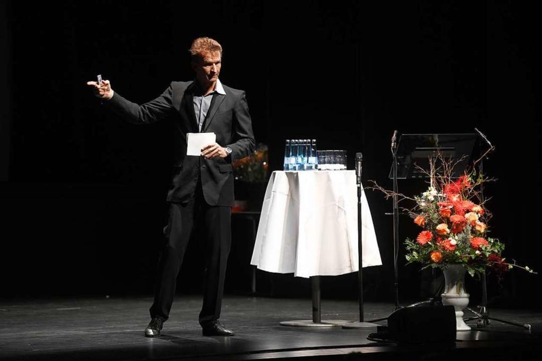 Referent Michael Groß  | Foto: Juri Junkov