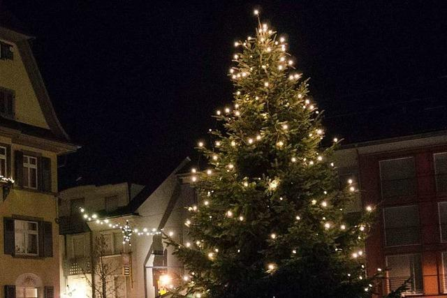Unbekannte demolieren Weihnachtsbeleuchtung
