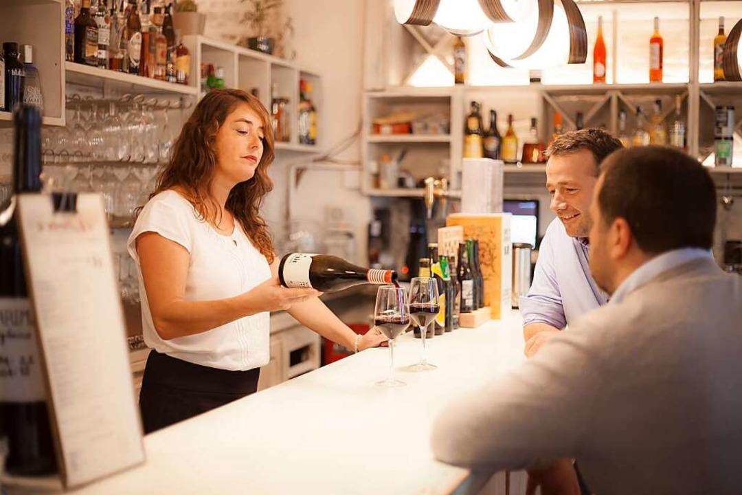 Rebecca Lüttin ist nach Spanien ausgew...am mit ihrem Mann mehrere Restaurants.  | Foto: Jorge de la Vega