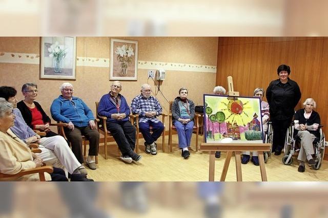 Ausstellung im Kursana Domizil