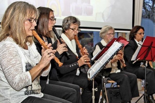 Flötenkreis überzeugt mit anspruchsvollem Spiel