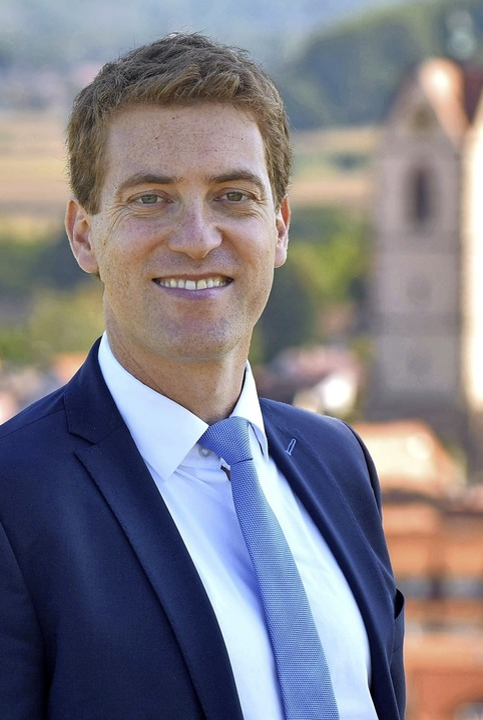 Tobias Metz (36) will Endinger Bürgermeister werden.    Foto: Privat