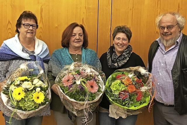 Evangelische Kinderpflege ehrt Mitarbeiterinnen