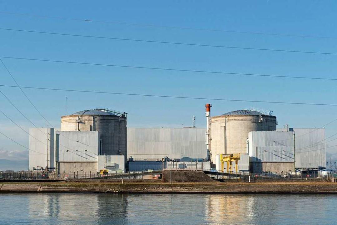 Das Atomkraftwerk Fessenheim soll 2020 geschlossen werden.  | Foto: dpa