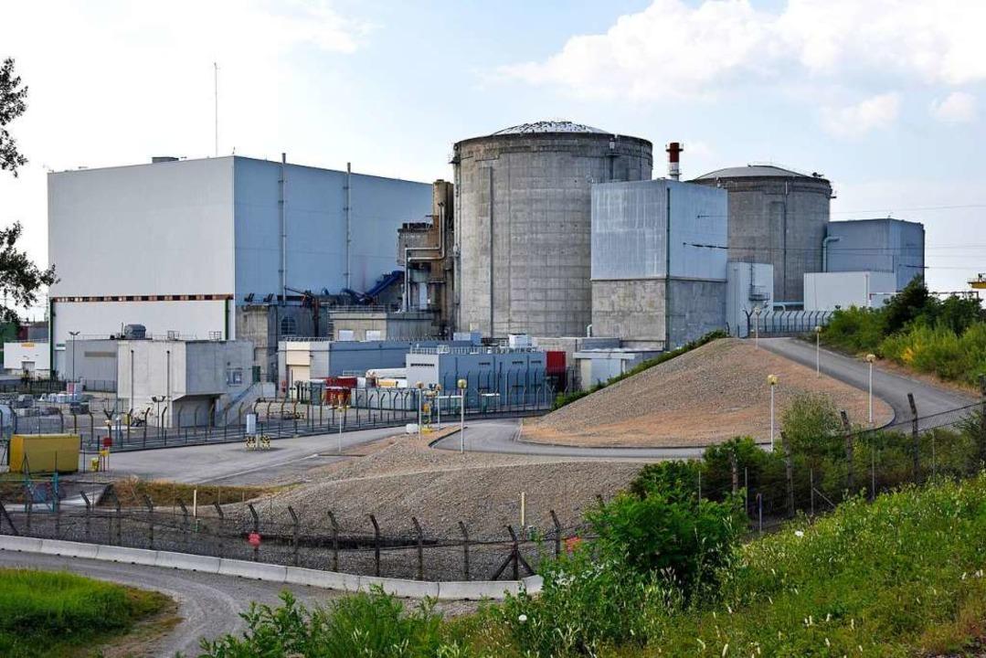 Die  Reaktoren von Fessenheim  | Foto: Siegfried Gollrad